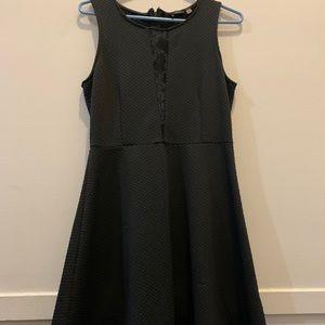 Dex Black Mini / Swing Dress - Never Worn